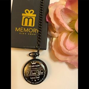 Memory present to my Son Packet watch I love you